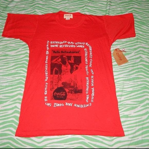 Coca Cola Other - Coca-Cola Vintage 80s T-shirt unisex Medium NWT